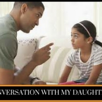 CONVERSATION WITH MY DAUGHTER 2----(4 Minutes Read).