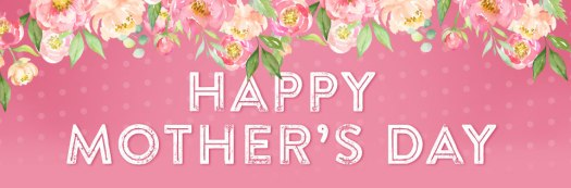 happy mothers day webpage header