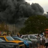 Shoppers flee as fire breaks out at B&M store in York
