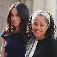 Meghan Markle's Mom Doria Ragland Arrives in London Ahead of Birth of Royal Baby
