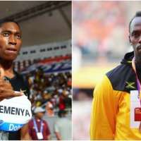 USAIN BOLT ADVISED CASTOR SEMENYA TO ACCEPT TESTOTERONE RULE.