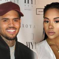 Chris Brown and Ammika Harris back as a family.