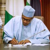 Buhari signed more bills to strengthen war against corruption.