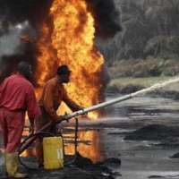 Pipeline Explosion in Eastern Nigeria: Numbers of victims remain unknown.