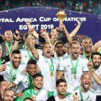 How Algeria became Africa champion yesterday in Egypt.