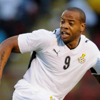 Junior Agogo died at 40.