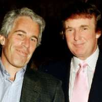 How Trump denied having idea if  Clinton is involved in Epstein's death.