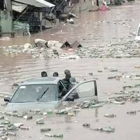 Flood sweeps cooking gas seller, seven others away in Ogun, Lagos